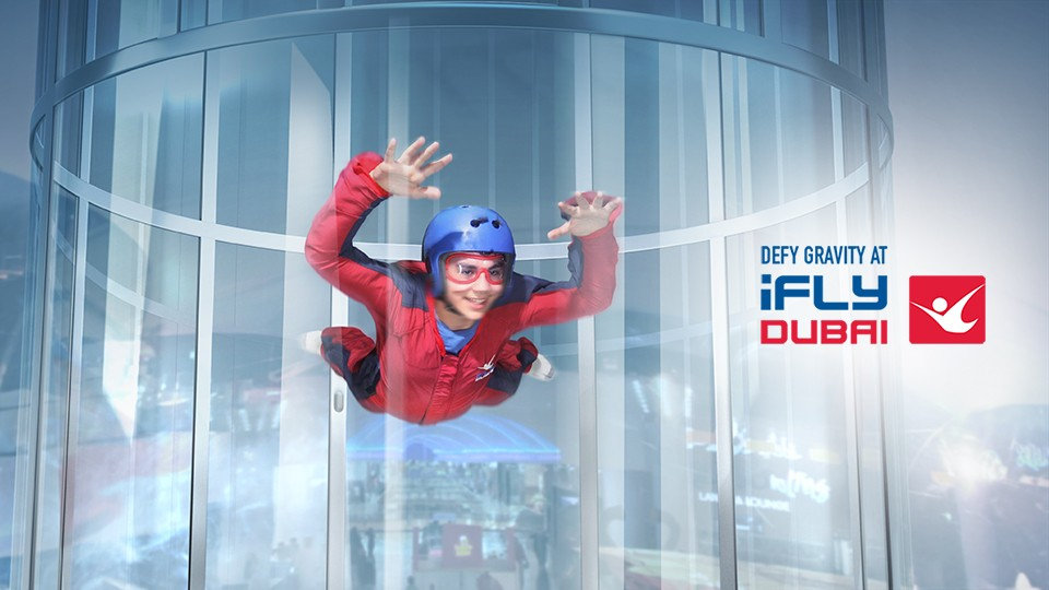 iFLY Dubai Academy,Mirdif City Centre,Experiences, Indoor Attractions