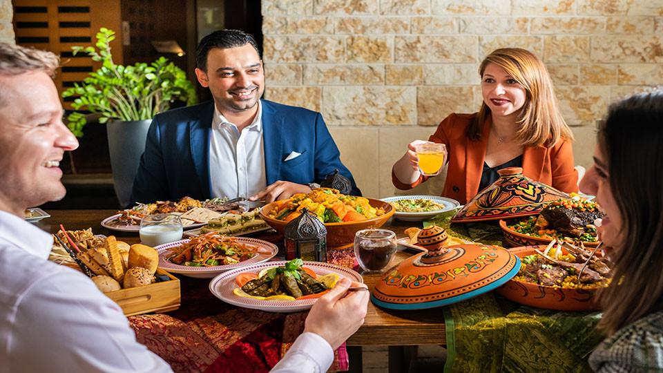 Iftar at Fairways, Westin Abu Dhabi Golf Resort & Spa,أبوظبي