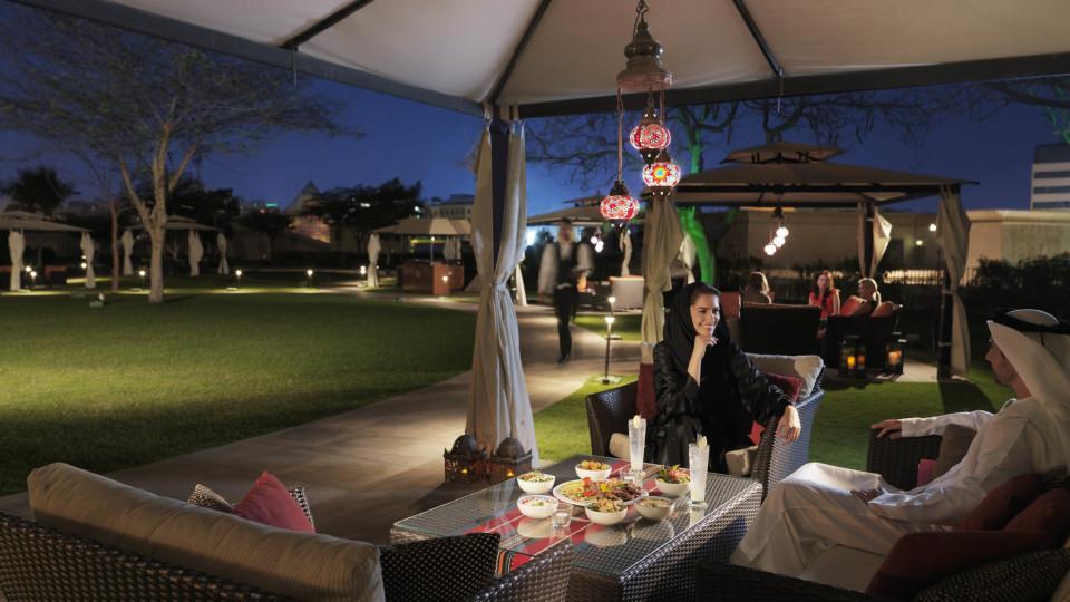 Iftar at Raffles Dubai, Raffles Hotel, Ramadan
