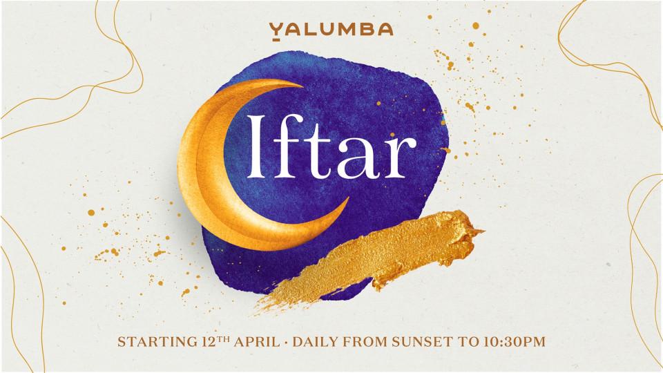 Iftar at Yalumba, Yalumba at Le Meridien Hotel and Conference Centre, Ramadan