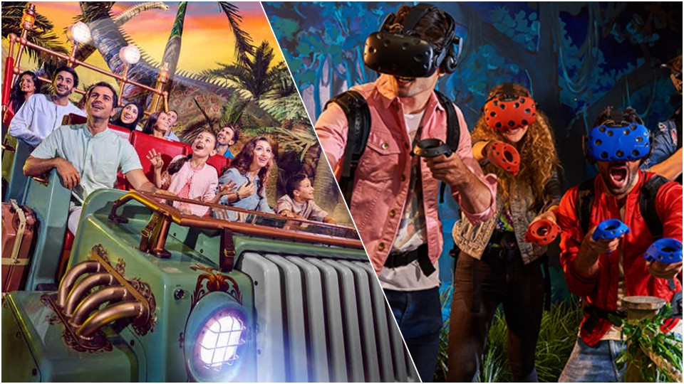 IMG Worlds of Adventure + VR PARK (4 Hour Unlimited Pass),Dubai.,Special Offers