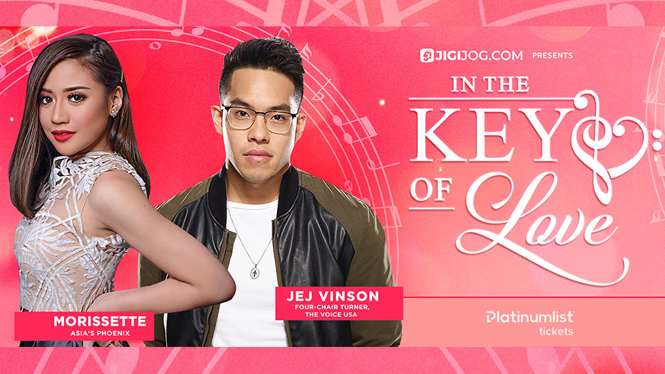 """In The Key Of Love"" Morissette & Jej Vinson Concert,Maymay Entrata"
