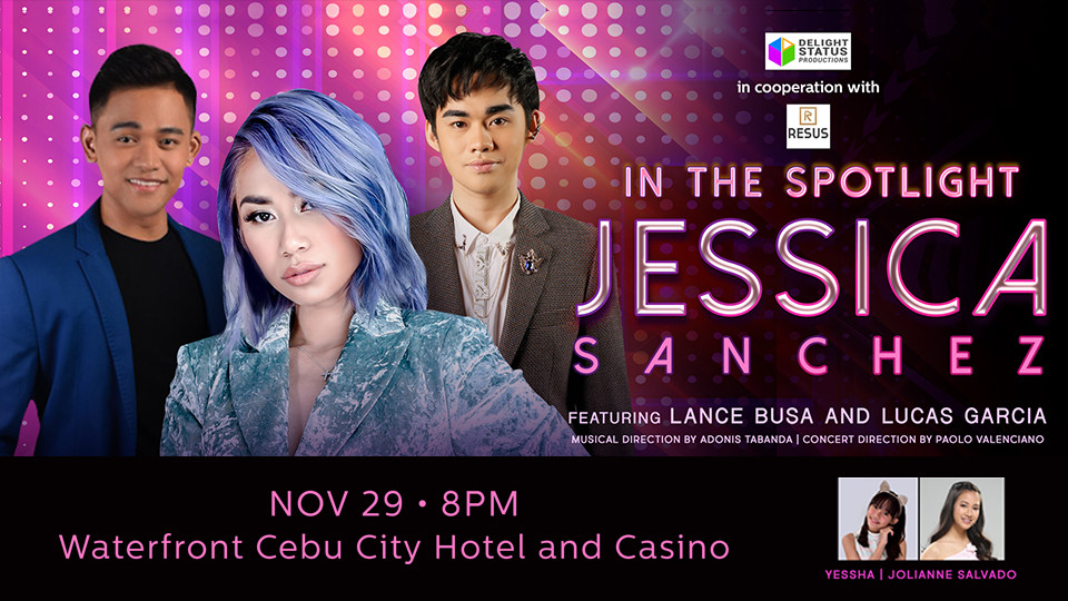 In The Spotlight - Jessica Sanchez Live in Cebu,Maymay Entrata