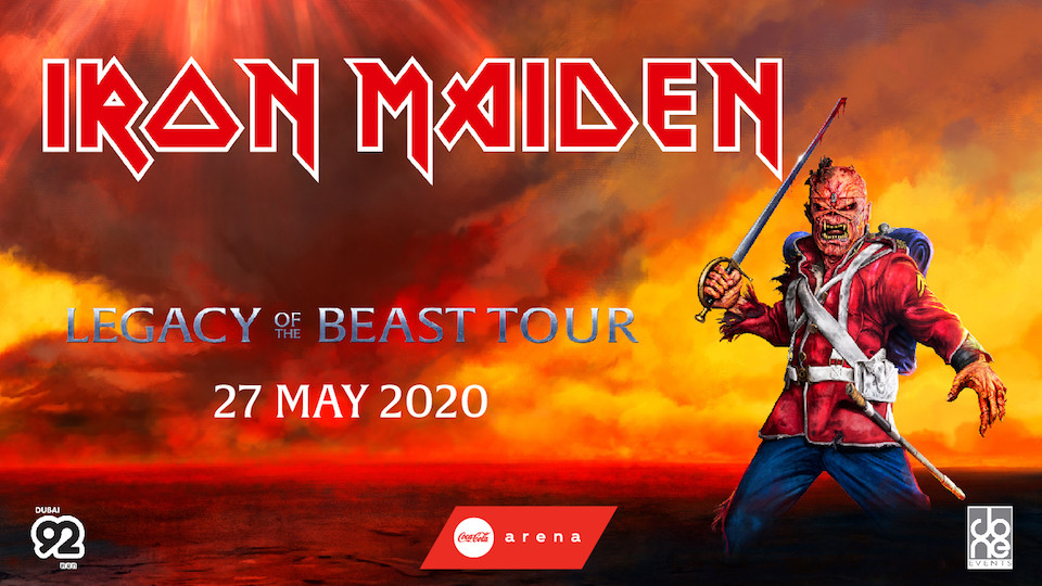 IRON MAIDEN LEGACY OF THE BEAST TOUR,Coca-Cola Arena,Concerts, Coca-Cola Arena Events
