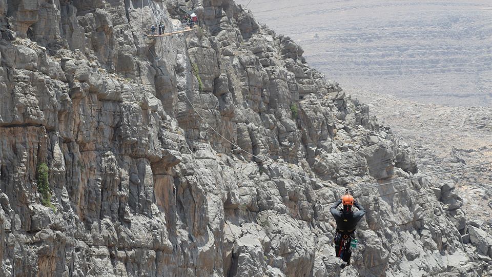 Jebel Jais Sky Trail,Zipline, Jebel Jais,Zipline