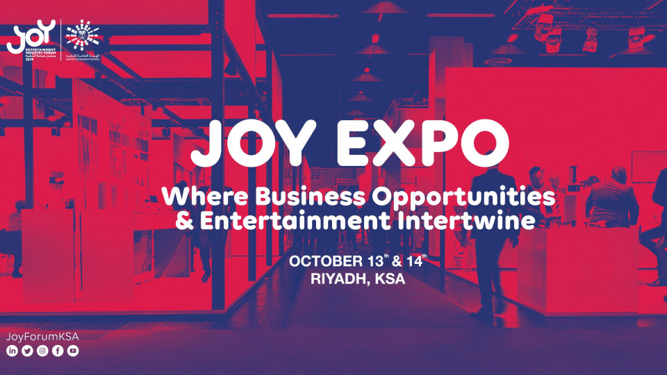 JOY EXPO, The Ritz-Carlton, Riyadh, Exhibitions