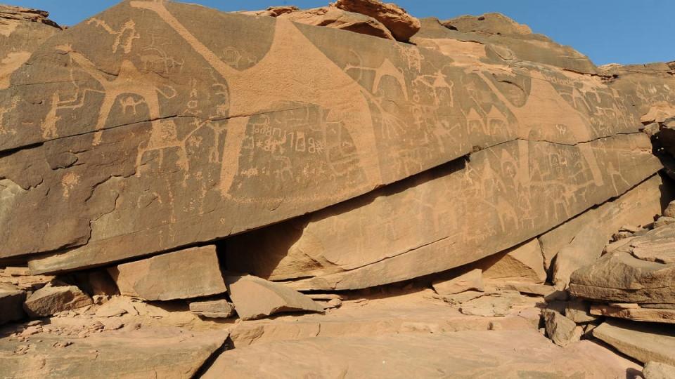 Jubbah Rock art, Jubbah Rock art, Attractions