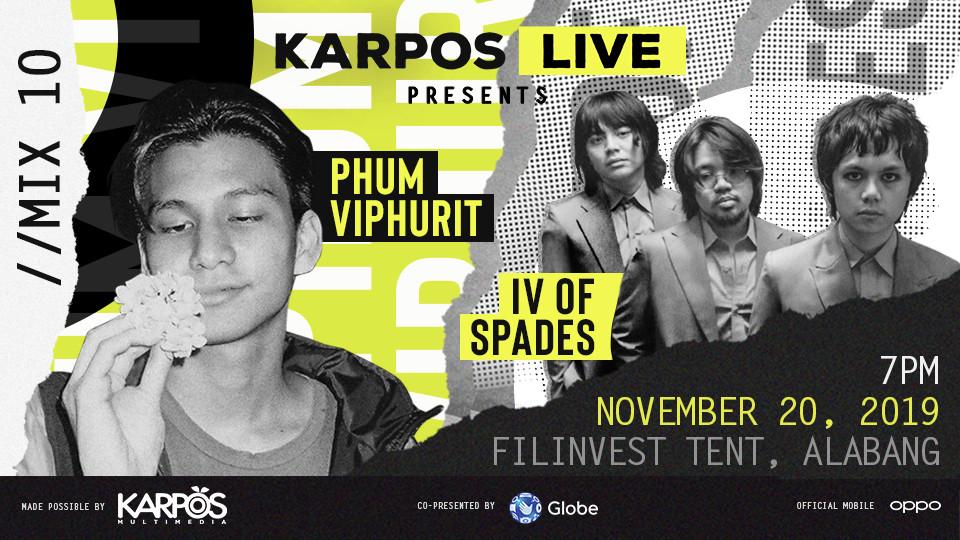 Karpos Live Mix 10: Phum Viphurit + IV of Spades,The Japanese House