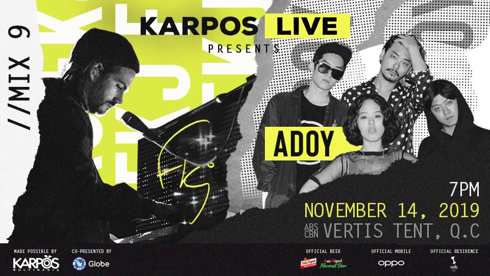 Karpos Live Mix 9: FKJ + Adoy,The Japanese House