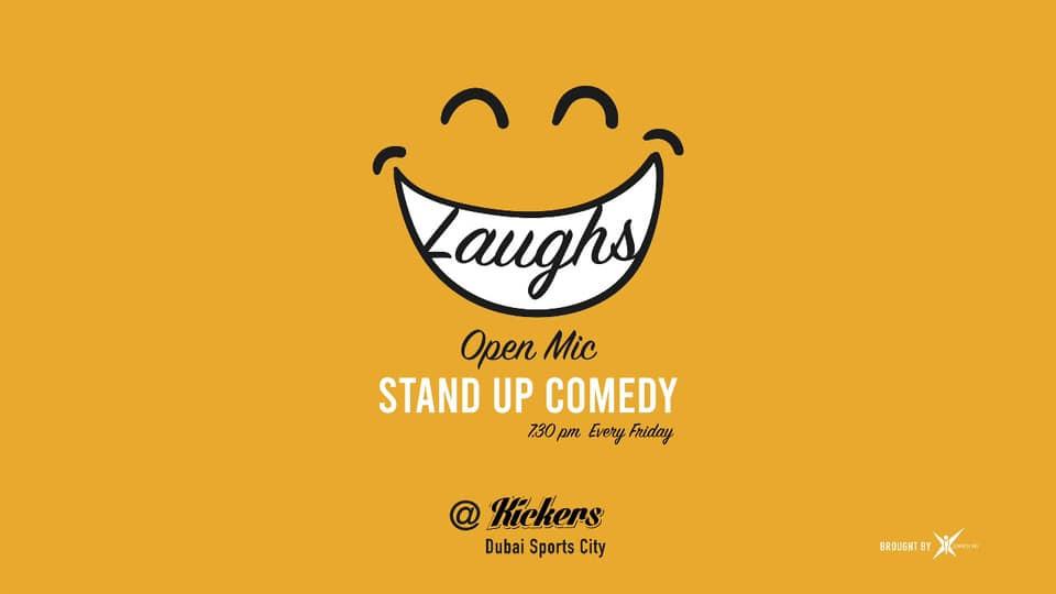 Kickers Open Mic: Stand-Up Comedy,Dubai