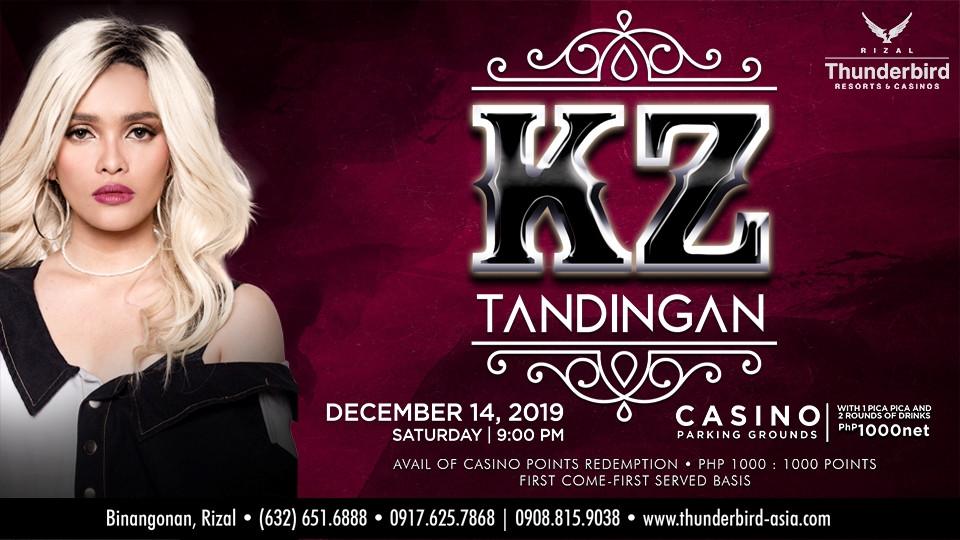 KZ Tandingan Live at Thunderbird Rizal,Thunderbird Resorts & Casinos- Rizal,Thunderbird Resorts and Casinos