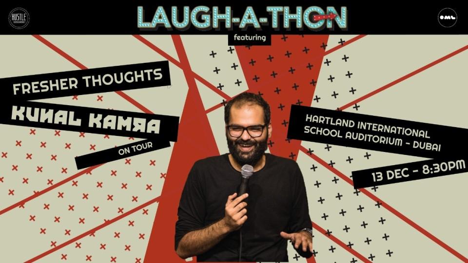 Laugh-a-thon ft. Kunal Kamra,Hartland Theater, Hartland International School,Desi Events, CHƯƠNG TRÌNH HÀI KỊCH