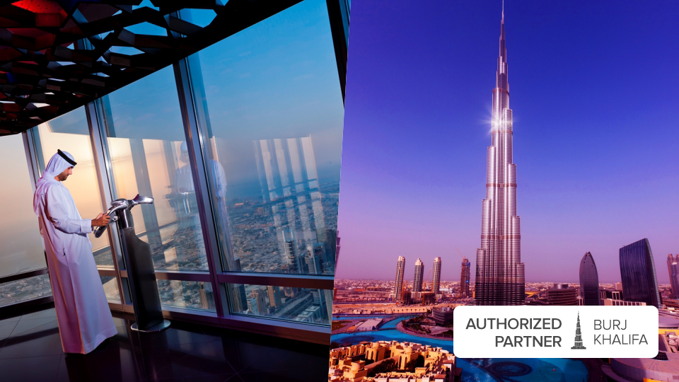 Level 148 + 125 + 124 General Admission - Burj Khalifa,Burj Khalifa,برج خليفة