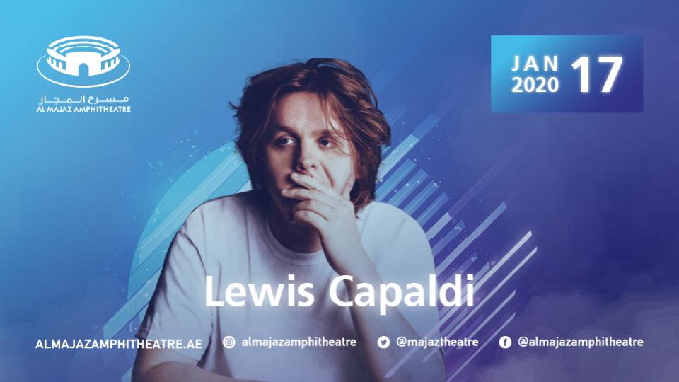Lewis Capaldi In Concert,Al Majaz Amphitheatre, Sharjah,Al Majaz Amphitheatre