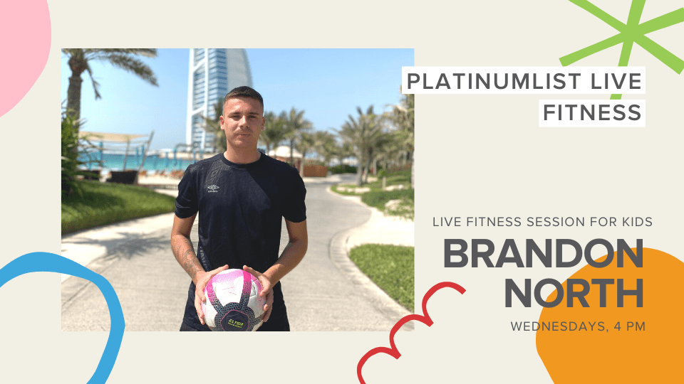 Live Fitness Session for Kids with Brandon North, Online Events, Sports and Fitness
