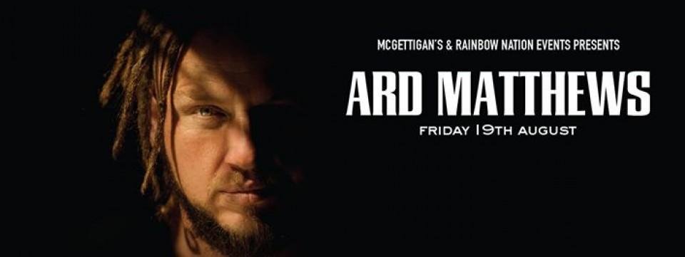 McGettigan's Presents Ard Matthews (Just Jinjer) Live, McGettigan's JLT, Nightlife, Live Music
