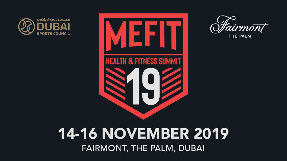 MEFIT Health & Fitness Summit 2019,Fairmont The Palm,Sports Events