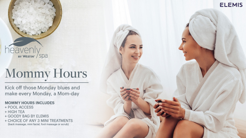 Mommy Hours at Heavenly Spa by Westin,The Westin Abu Dhabi Golf Resort & Spa,Health and Wellness