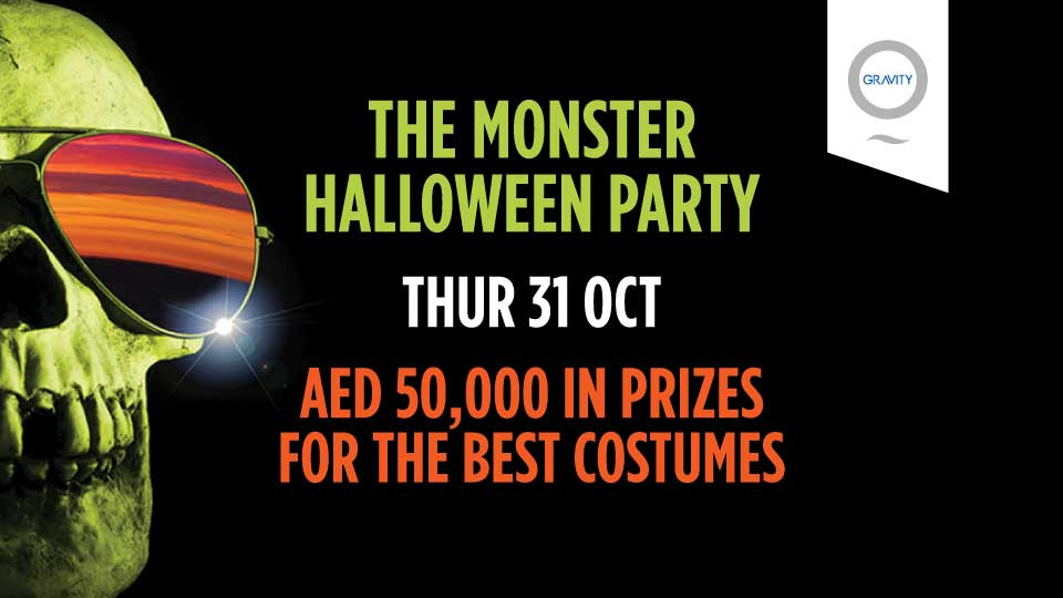 Monster Halloween Party | AED 50,000 in cash prizes!,Zero Gravity,Halloween