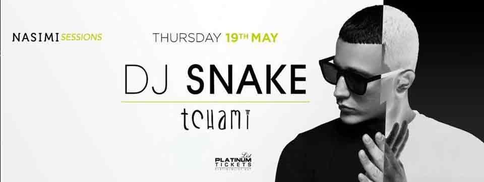 Nasimi Sessions featuring DJ Snake & Tchami,دبي