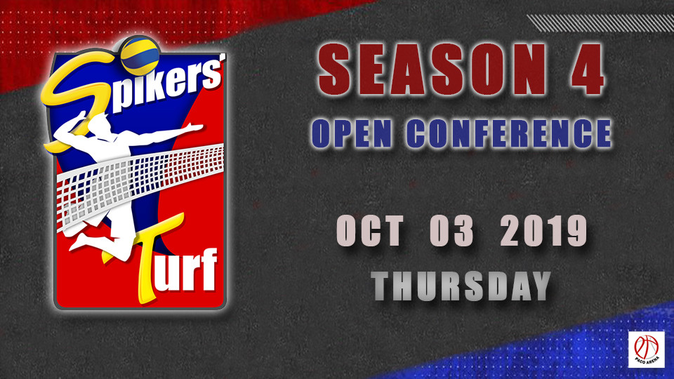 Oct 03- Spikers Turf Open Conference Season 4,مانيلا