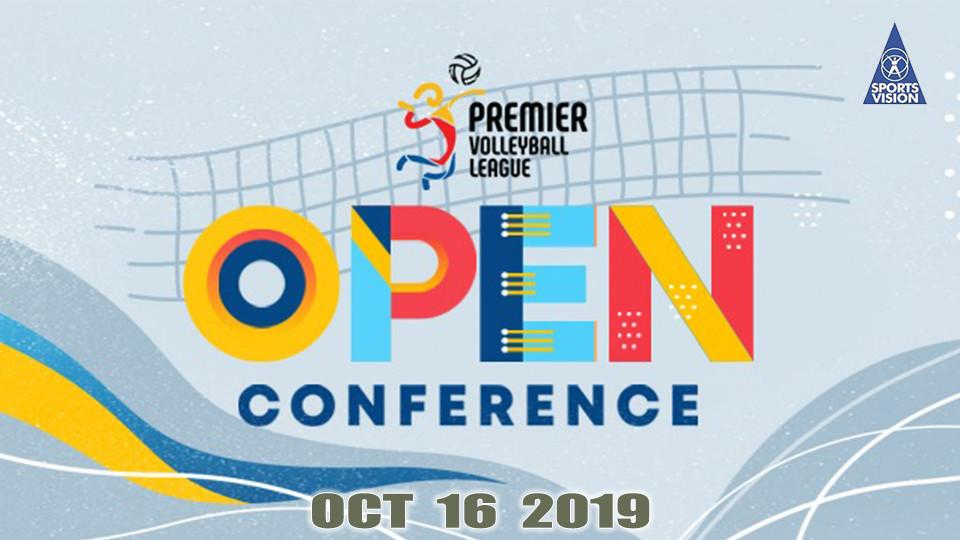 Oct 16 - PVL Open Conference Season 3, Filoil Flying V Arena, منافسات الدوري الممتاز لكرة الطائرة