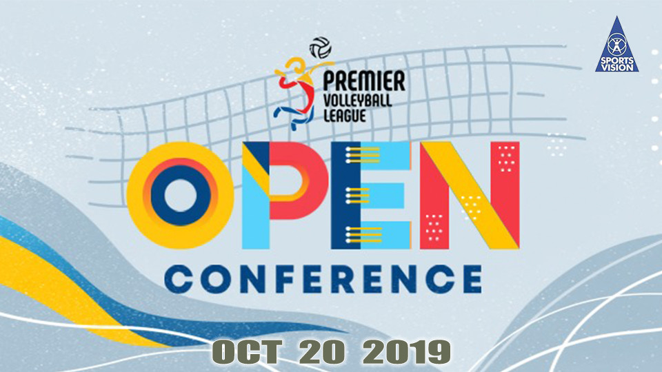 Oct 20 - PVL Open Conference Season 3, Filoil Flying V Arena, Premier Volleyball League