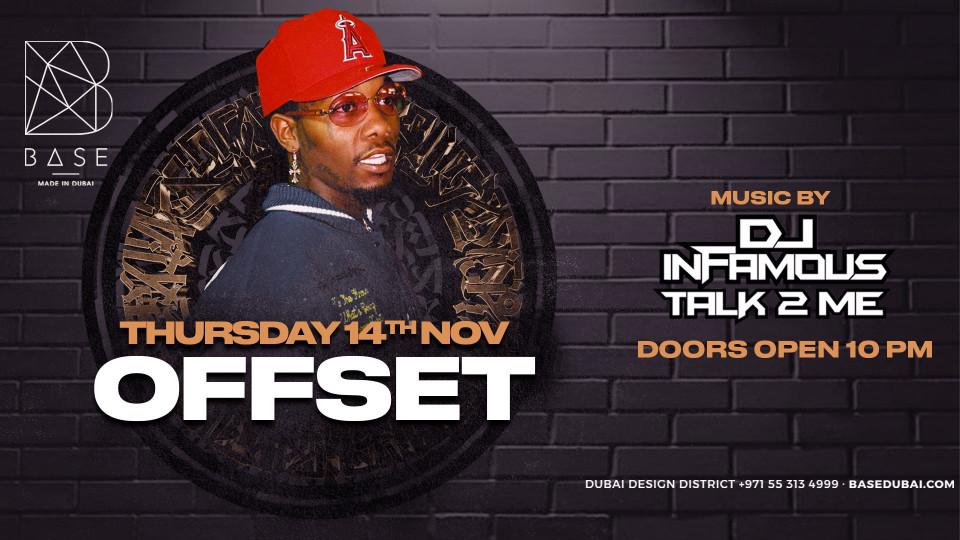 Offset | BASE Dubai // Thursday, November 14th,Base Dubai,Urban