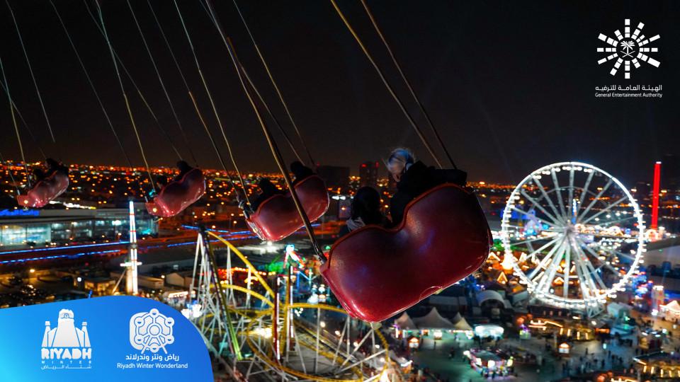 Riyadh Winter Wonderland,Winter Wonderland,Attractions