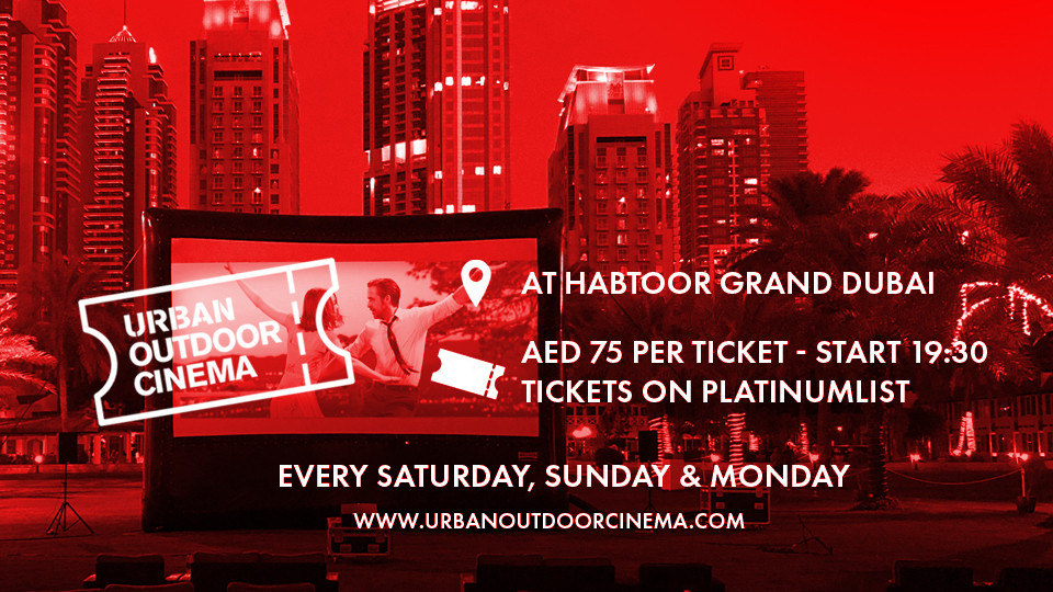 Outdoor Urban Cinema 2019/20,Habtoor Grand Resort, Autograph Collection,CHIẾU PHIM