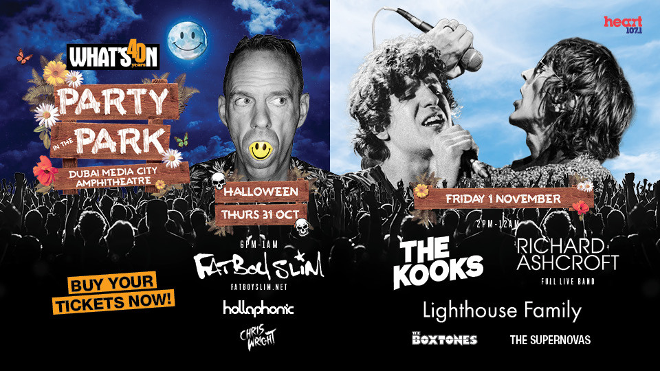 Party in the Park with Fatboy Slim, The Kooks, Richard Ashcroft & Lighthouse Family,Media City Amphitheatre,Popular