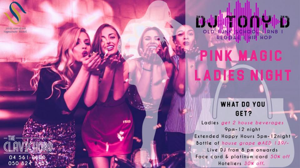 Pink Magic Ladies' Night!,Dubai