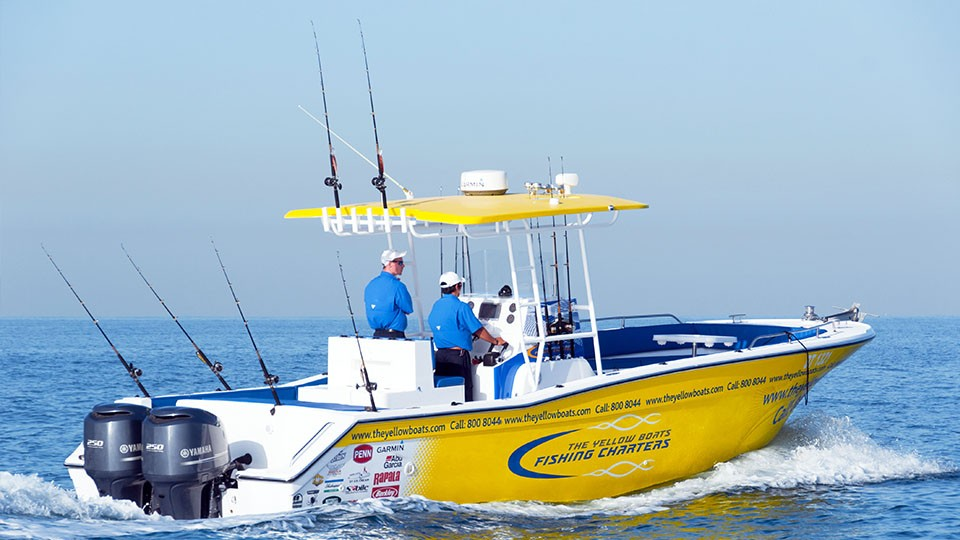 Private Fishing Charter - 8 Persons Max,Yellow Boats (Dubai),Speed Boat Tours