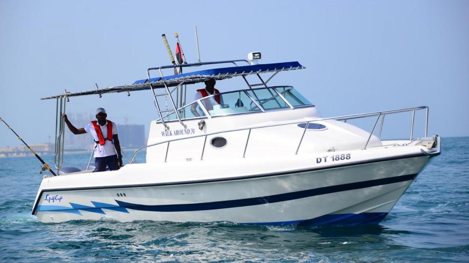 2 hours Private Boat Tour,Mina Rashid Marina,رحلات بحريه اليخوت