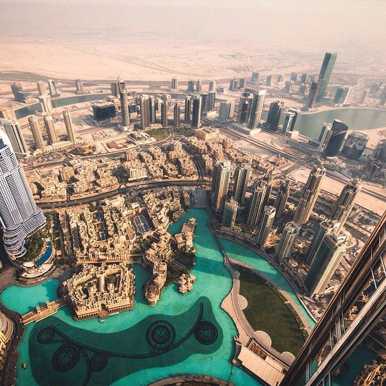 Top, Burj Khalifa 124th & 125th Floor