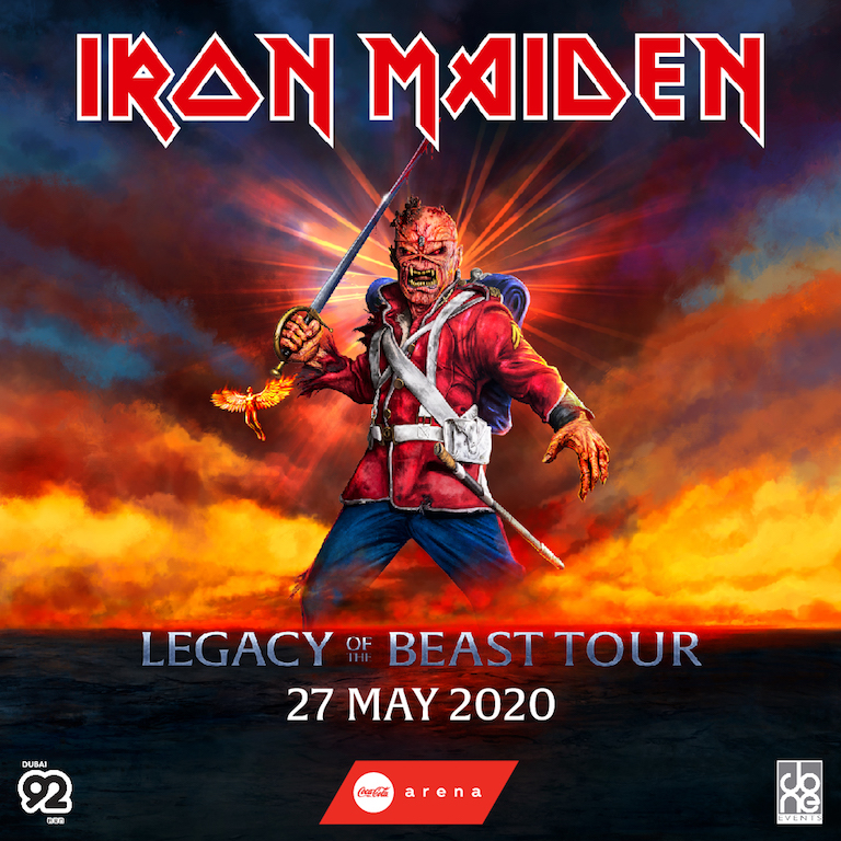 Iron Maiden Tour 2020.Tickets To Iron Maiden Legacy Of The Beast Tour