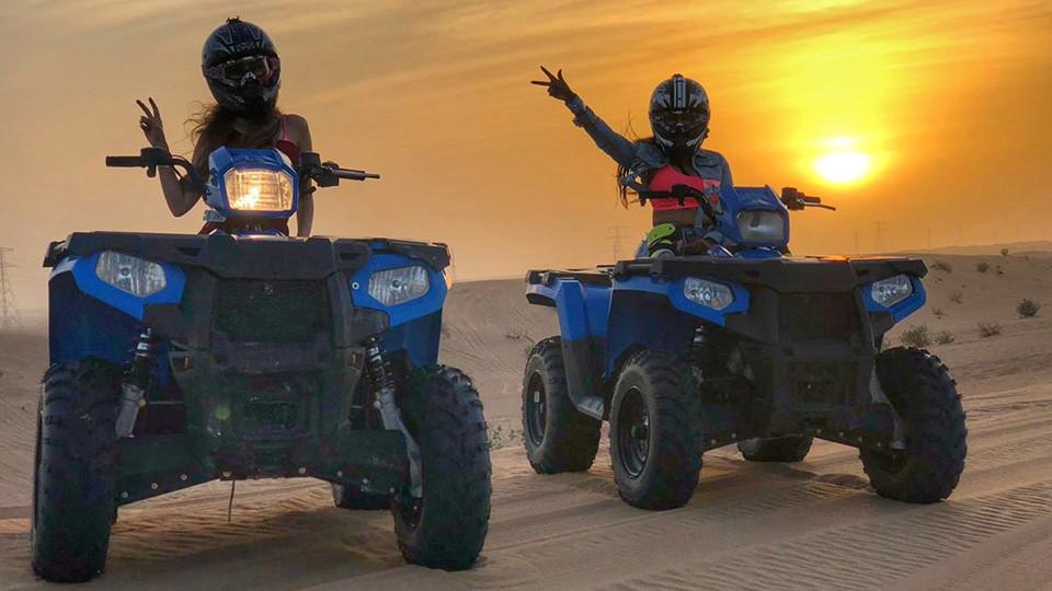 Quadbike Tour Safari,Dubai,رحلات سفاري في الصحراء