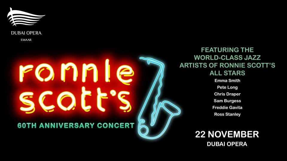 Ronnie Scott Live - 60th Anniversary Concert At Dubai Opera,Dubai Opera,Concerts, Jazz