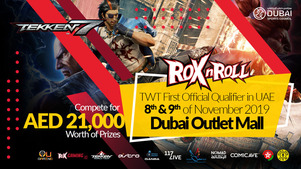 ROX n ROLL,Dubai Outlet Mall,Sports Events