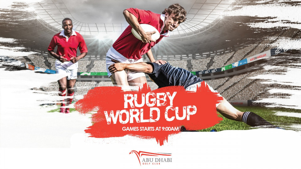 Rugby World Cup at Abu Dhabi Golf Club,Abu Dhabi