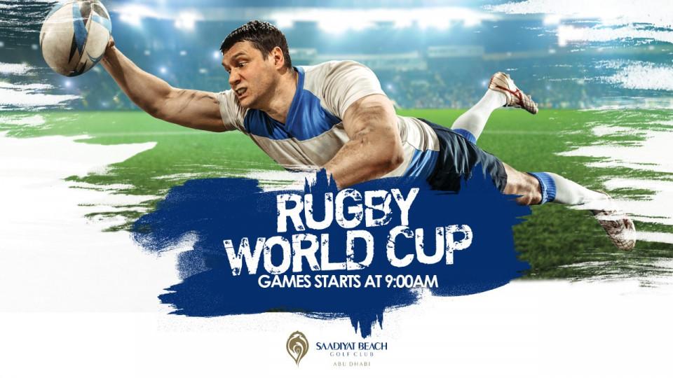Rugby World Cup at Saadiyat Beach Golf Club,Abu Dhabi