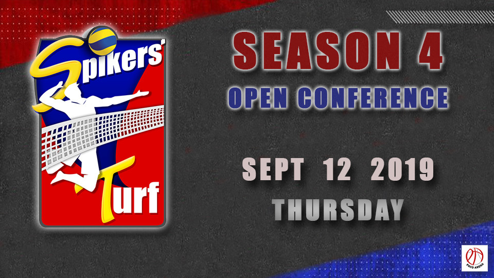 Sep 12- Spikers Turf Open Conference Season 4,مانيلا