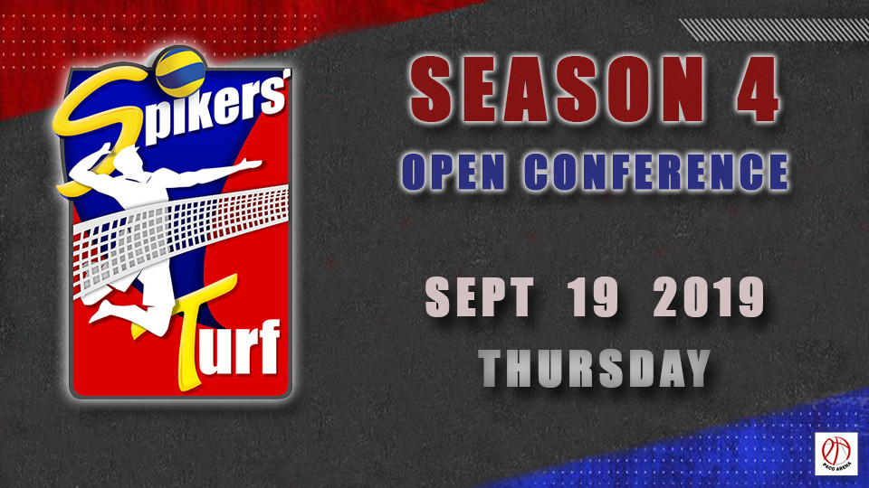 Sep 19- Spikers Turf Open Conference Season 4,مانيلا