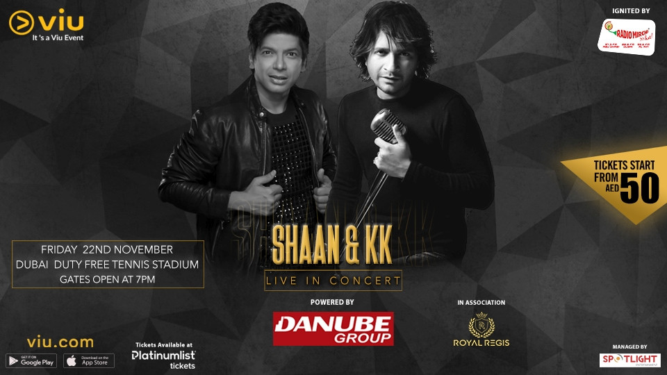Shaan and KK Live in Dubai,Dubai Duty Free Tennis Stadium,حفلات, احداث ديسي