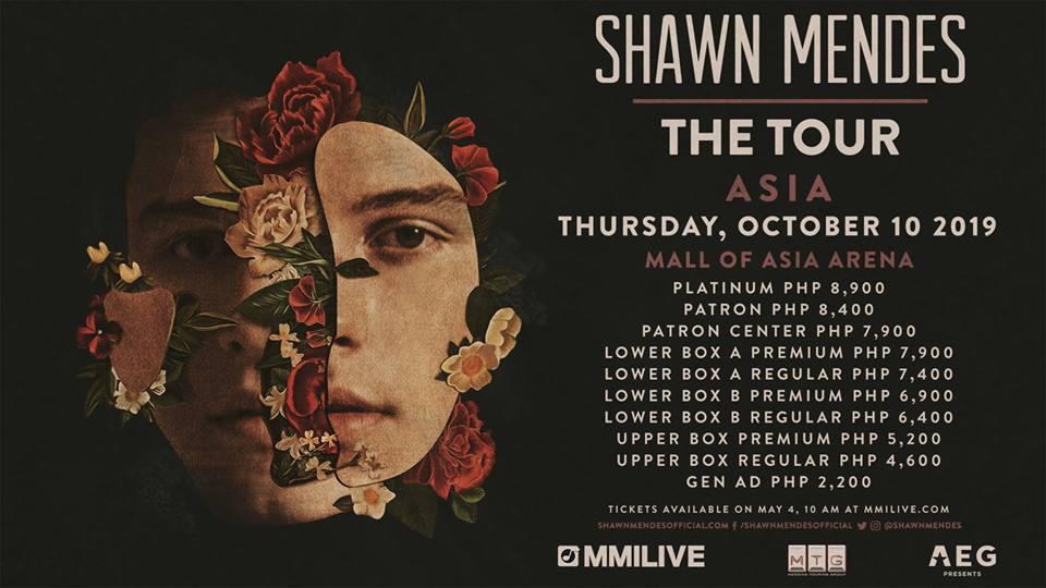 Shawn Mendes : The Tour PH, Mall Of Asia Arena, الحفلات الموسيقية