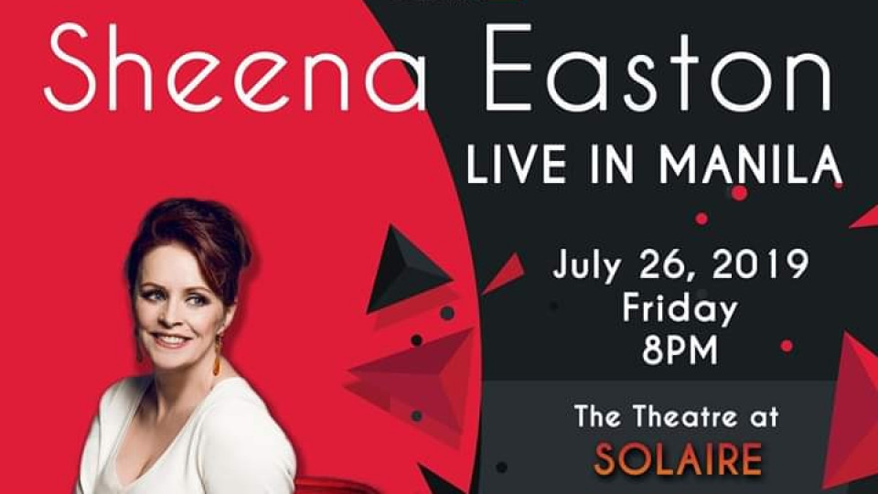 Sheena Easton Live in Manila 2019, The Theatre at Solaire, Popular