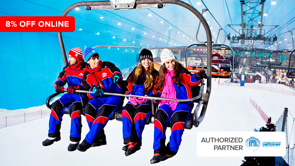 Ski Dubai,Mall of The Emirates,تجارب, Special Offers, Indoor Attractions