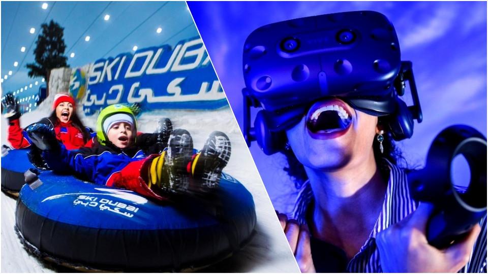 Ski Dubai (Snow Classic Pass)+ VR Park (4 Hours Unlimited Pass),Dubai,Special Offers, Experiences