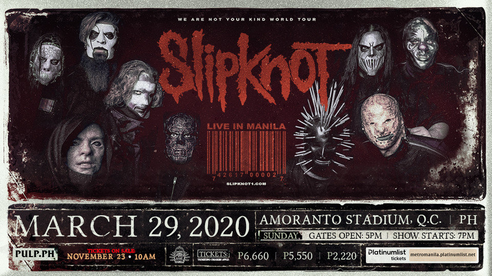 Slipknot Live In Manila,Amoranto Stadium,Concerts, Rock