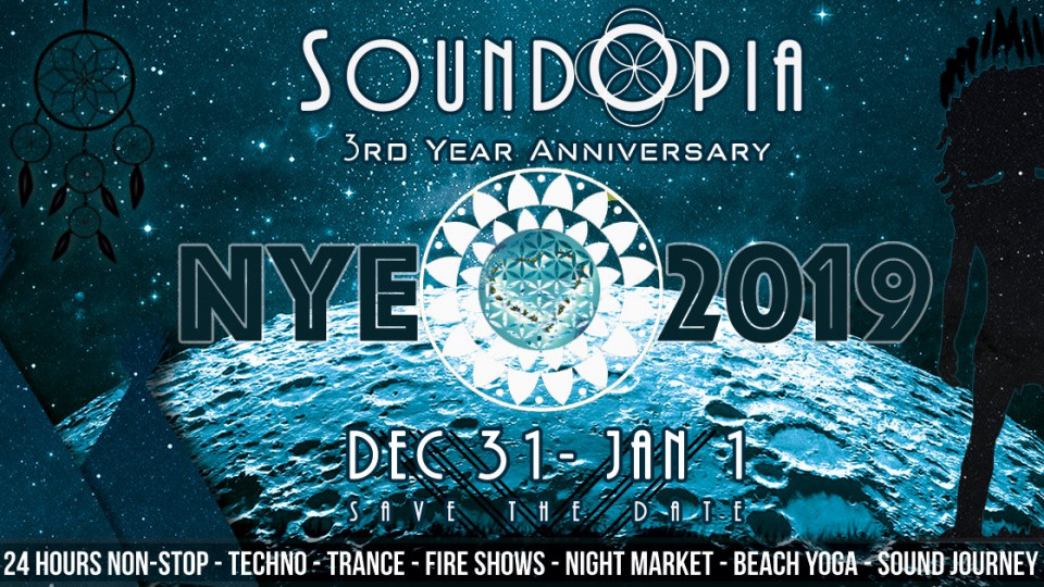SoundOpia The Grand NYE 2019 (3rd Year Anniversary),Dubai